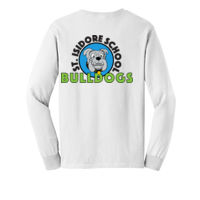 ADULT - LONG SLEEVE - TSHIRT - (S-S-MC-GB ) - STRIPE ALSO ON SLEEVE Thumbnail