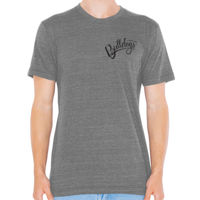 ADULT - SHORT SLEEVE - TRI-BLEND TSHIRT -  (C-DMD-BK) Thumbnail