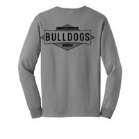 ADULT - LONG SLEEVE - TSHIRT - (S-DMD-BK) - *see youth image for true color Thumbnail